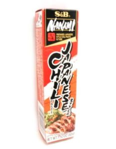 S&B Japanese Chilli Paste (Nanami Paste)| Buy Online at The Asian Cookshop